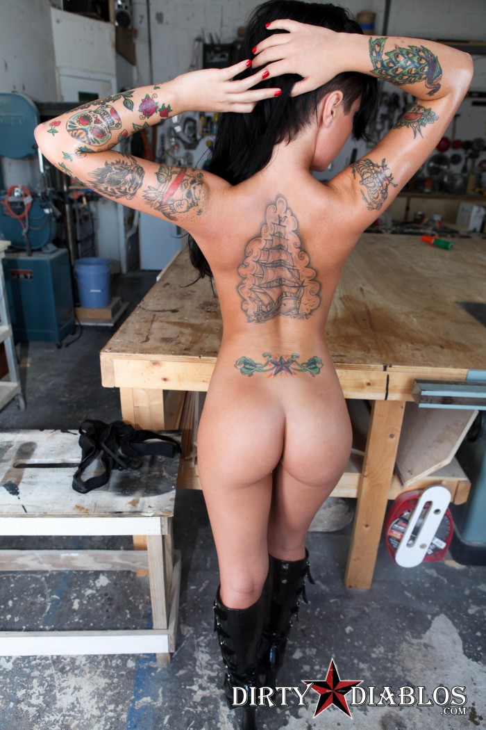 Christy Mack Boots